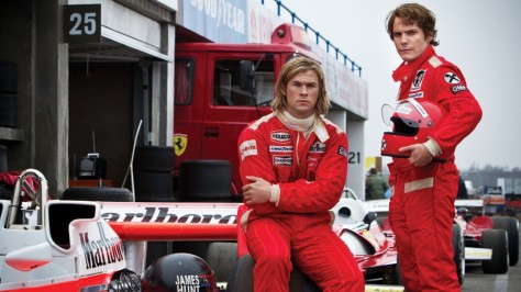 Niki Lauda, James Hunt, Chris Hemsworth, Daniel Ruhl