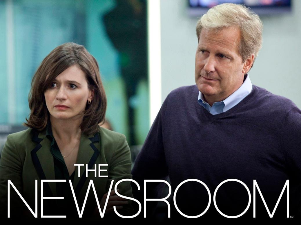 Newsroom, Jeff Daniels, Emily Watson, HBO, Aaron Sorkin