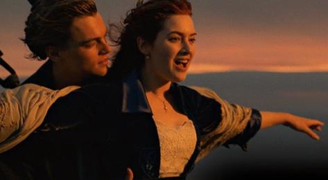 Kate Winslet, Leonardo DiCaprio, Titanic