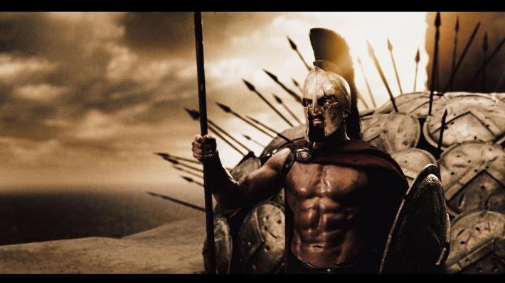 300, Leonidas, Spartans, Gerard Butler