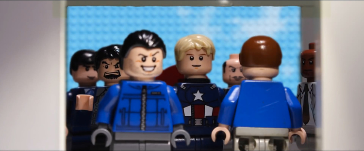 LEGO, Captain America, Captain America The Winter Soldier