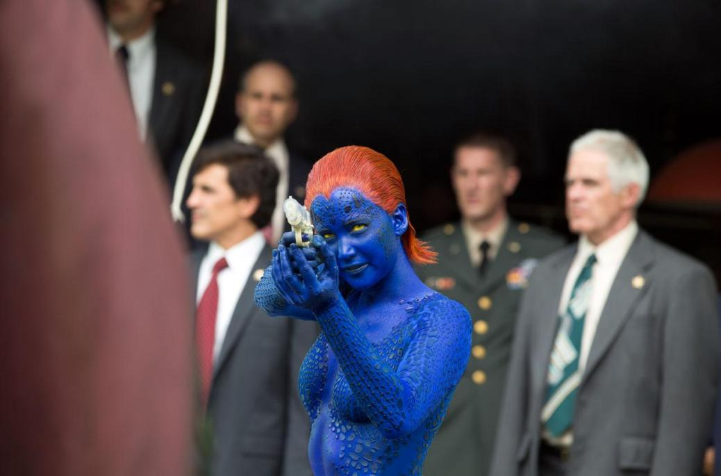 Jennifer Lawrence, Raven Darkholme, Mystique, X-Men Days of Future Past
