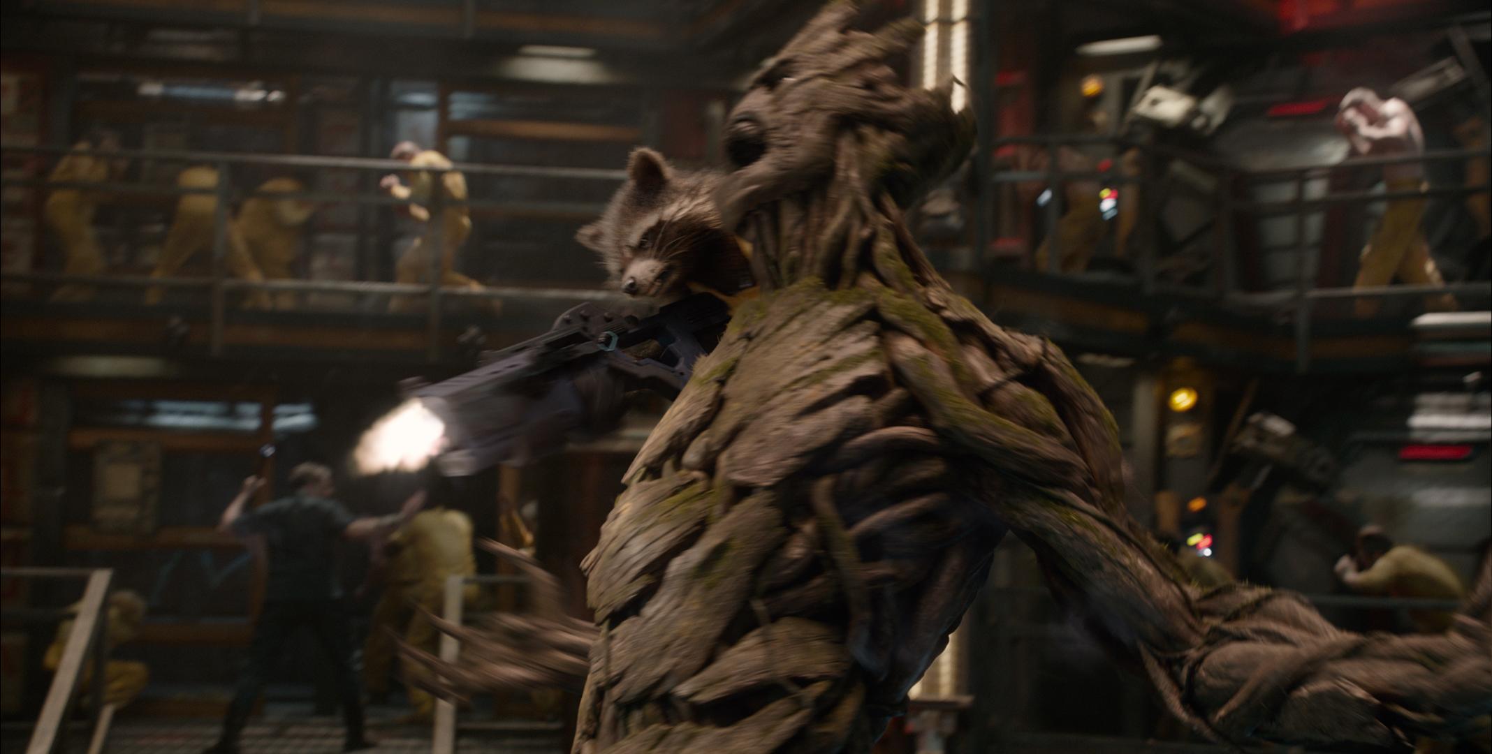 Groot, Rocket Raccoon, Guardians of the Galaxy, Vin Diesel, Bradley Cooper