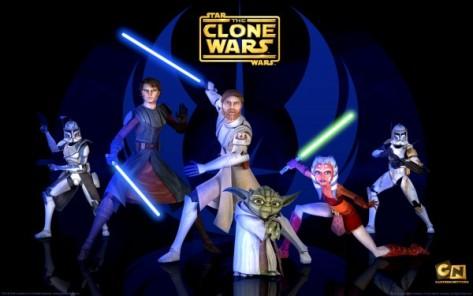 Anakin Skywalker, Obi-Wan Kenobi, Ahsoka Tano, Yoda, Star Wars Clone Wars