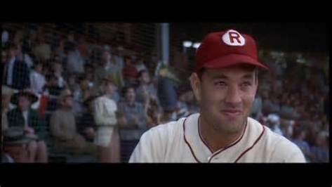 A League of their Own, Jimmy Dugan, Tom Hanks