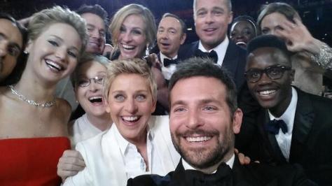 Bradley Cooper, Ellen DeGeneres, Julia Roberts, Meryl Streep, Brad Pitt, Oscars, Most Retweeted Pictue of All-Time