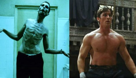 Christian Bale, The Machinist, Batman Begins
