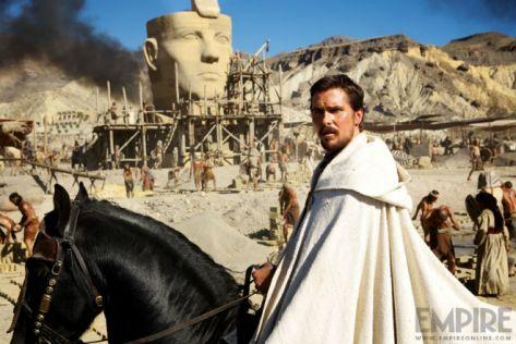 Christian Bale, Moses, Exodus