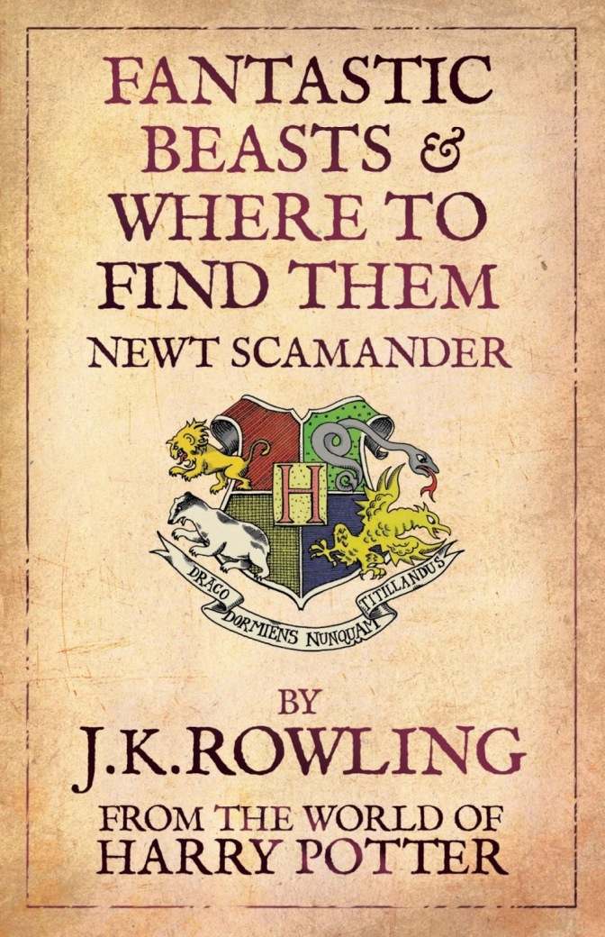 JK Rowling's Fantastic Beasts to be a Trilogy in the World of Harry Potter