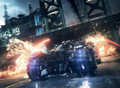 Batman Arkham Knight, Batman, Batmobile