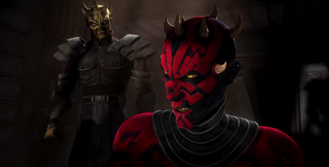 Darth Maul, Savage Opress, Star Wars Clone Wars