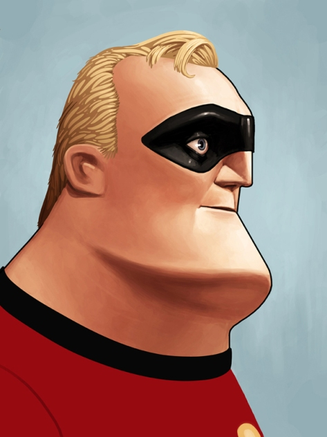 The Incredibles, Mr. Incredible