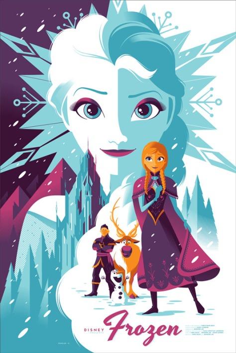 Mondo Posters, Frozen, Anna, Elsa