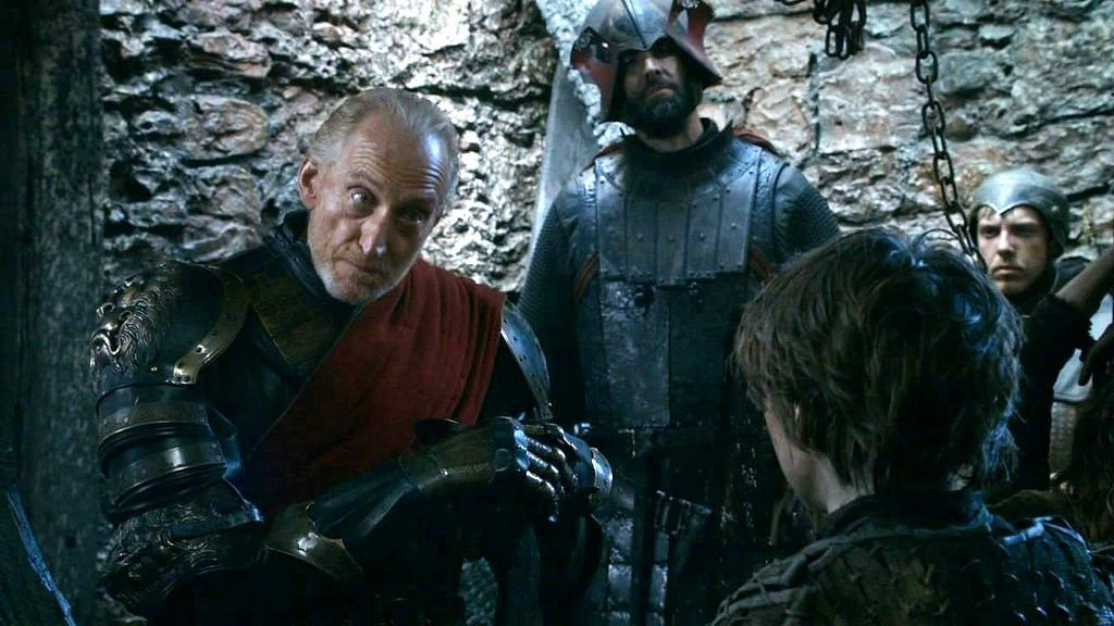 Game of Thrones, Tywin Lannister, Arya Stark, Maisie Williams, HBO