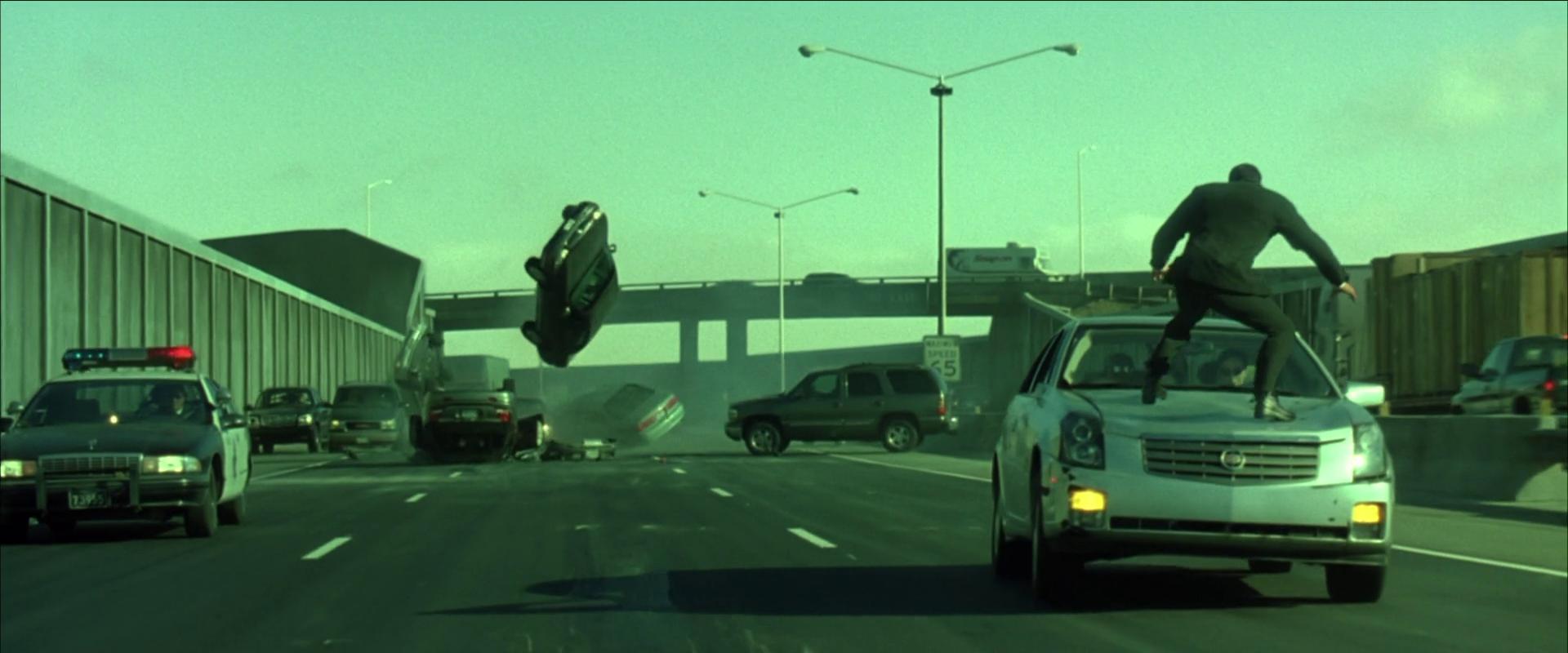My favorite scene the matrix reloaded 2003 freeway for Matrix reloaded architect