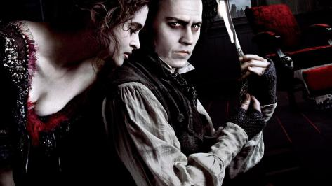Sweeney Todd, Helena Bonham Carter, Johnny Depp