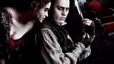 Sweeney Todd, Helena Bonham Carter, Johnny Depp