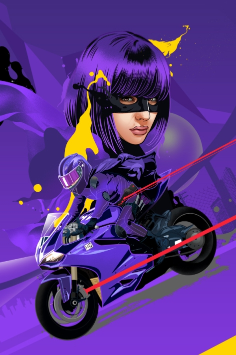Hit-Girl, Kick-Ass