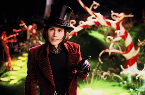 Johnny Depp, Willy Wonka, Charlie and the Chocolate Factory