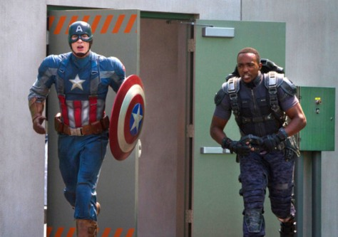 Captain America, Falcon, Captain America The Winter Soldier