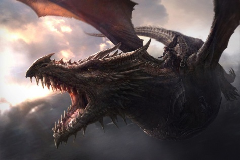 dragon, dragons, Game of Thrones