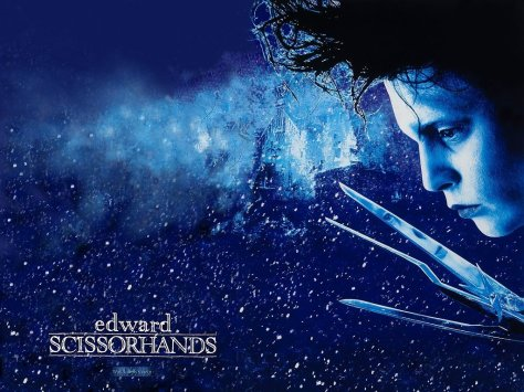Edward Scissorhands, Johnny Depp