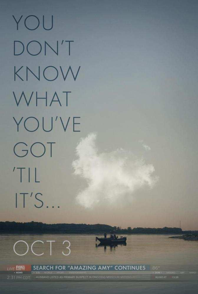 Trailer Time: Gone Girl Trailer #1 (2014) Plus Poster!  New Fincher!