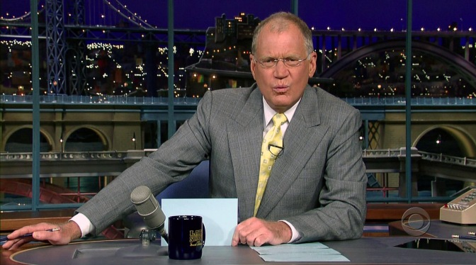 The Final Late Show with David Letterman Date Announced