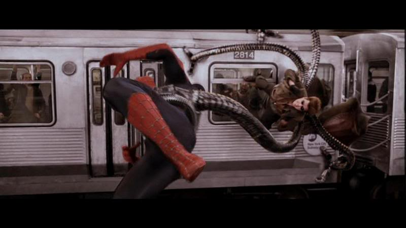 Spider-Man 2, Dr. Octopus, Alfred Molina, Spider-Man, Peter Parker, Tobey Maguire