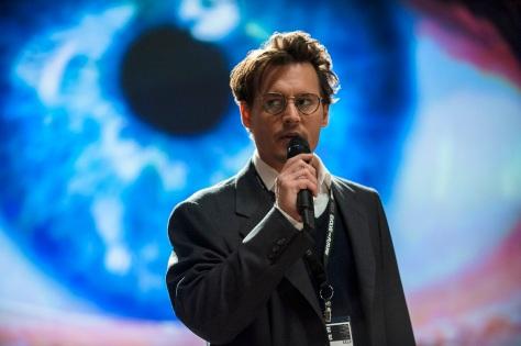 Johnny Depp, Transcendence