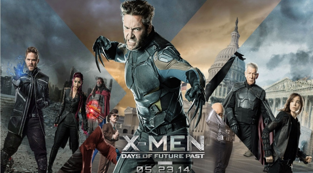 X Men Days Of Future Past Wolverine Magneto