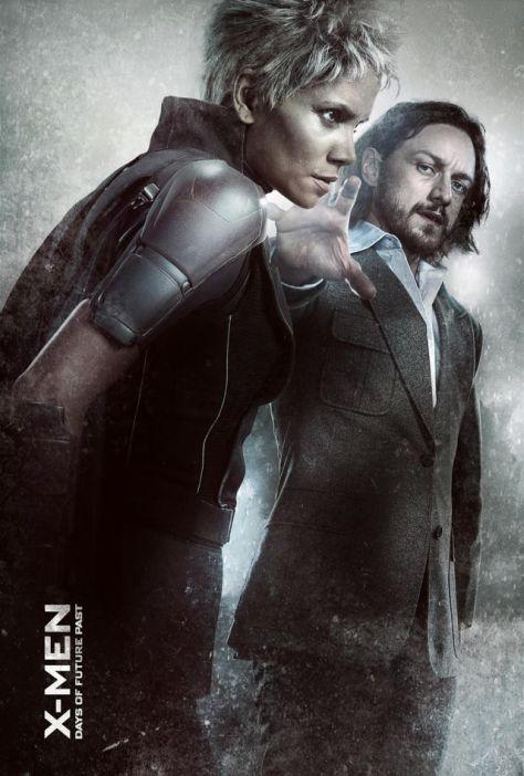 X-Men Days of Future Past, Storm, Halle Berry, James McAvoy, Professor X