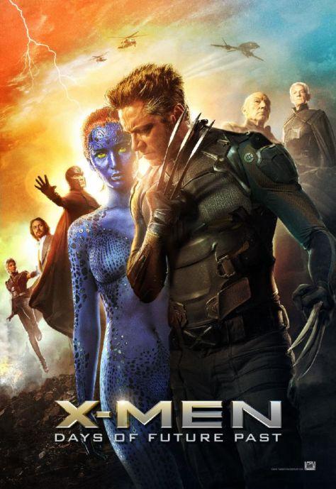X-Men Days of future Past, Magneto, Ian McKellan, Michael Fassbender, Wolverine, Hugh Jackman, Mystique, Jennifer Lawrence