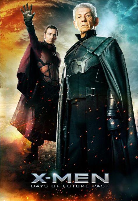 X-Men Days of future Past, Magneto, Ian McKellan, Michael Fassbender