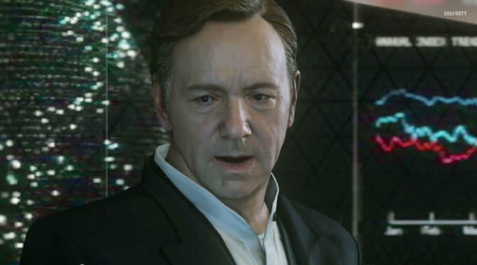 Kevin Spacey, Call of Duty Advanced Warfare