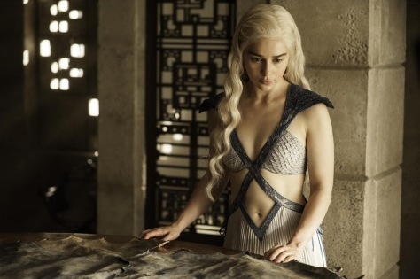 Danerys Targaryen, Emilia Clarke, Game of Thrones