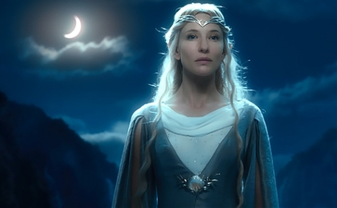 The Hobbit An Unexpected Journey, Galadriel, Cate Blanchett