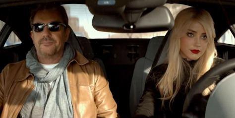 3 Days to Kill, Amber Heard, Kevin Costner