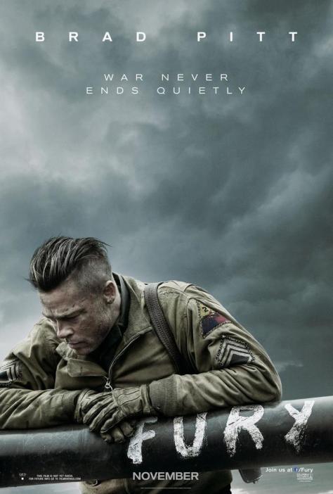 Fury, David Ayer, Brad Pitt