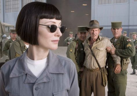 Indiana Jones, Harrison Ford, Cate Blanchett
