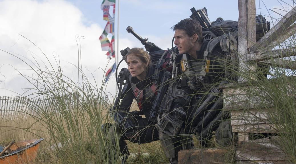 Tom Cruise, Emily Blunt, Edge of Tomorrow