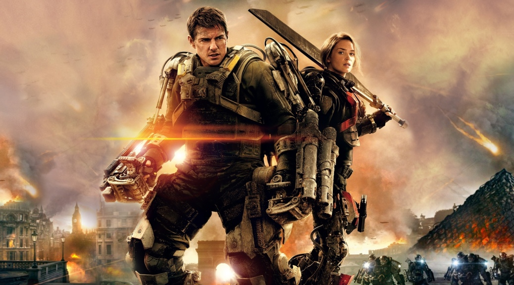 Edge of Tomorrow, Tom Cruise, Emily Blunt