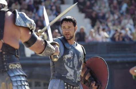 Maximus, Gladiator, Russell Crowe
