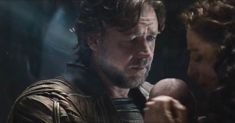 Russell Crowe, Jor-El, Man of Steel