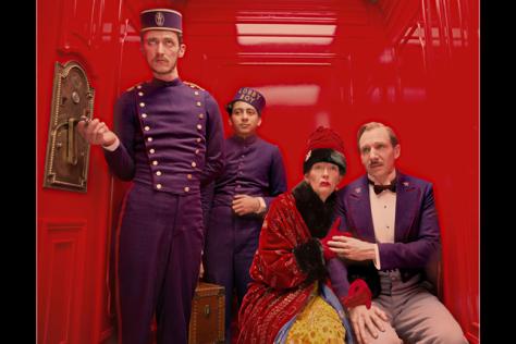 Ralph Fiennes, Tilda Swinton, The Grand Budapest Hotel