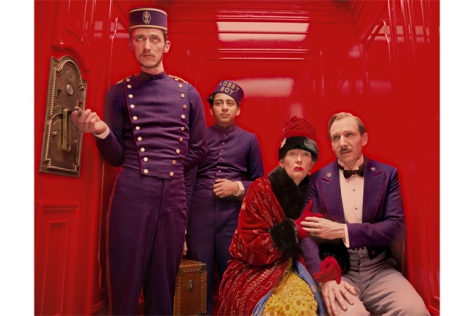 Ralph Fiennes, Tilda Swinton, The Grand Budapest Hotel