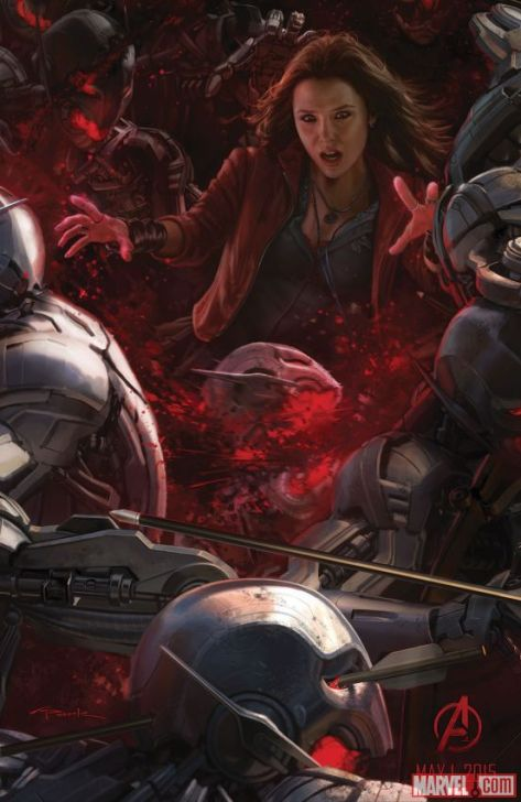 Scarlet Witch, Elizabeth Olsen, Avengers: Age of Ultron, Ultron