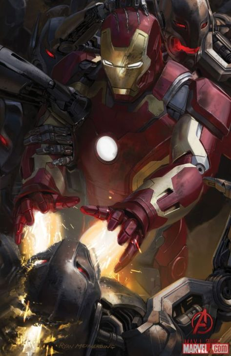 Iron Man, Avengers Age of Ultron, Ultron