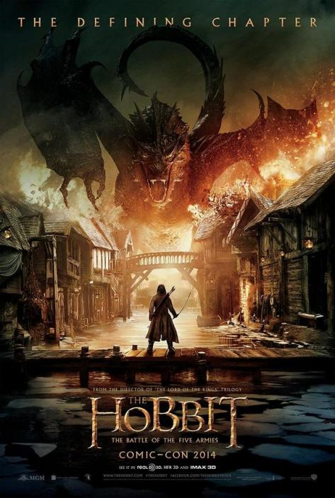 The Hobbit The Battle of the Five Armies, Bard the Bowman, Smaug