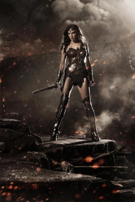 Gal Gadot, Wonder Woman, Batman v. Superman Dawn of Justice